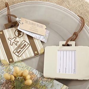 Accessories - 3/$30 Vintage Styled Suitcase Luggage Tag